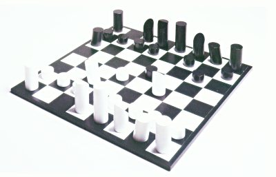 yves tanguy chess set and tabletop board bef1939